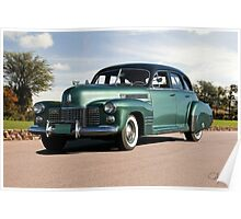 1941 Cadillac Series 61 Sedan Poster
