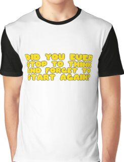 Winnie The Pooh Funny Quote Cool Cartoon Clever  Graphic T-Shirt