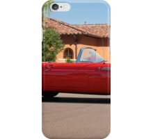 1956 Ford Thunderbird 'Profile in Red' iPhone Case/Skin