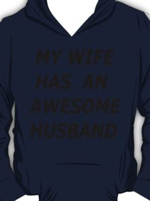 AWESOME HUSBAND T-SHIRT T-Shirt