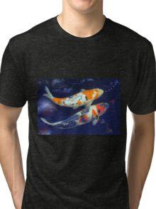 Colourful Koi Tri-blend T-Shirt