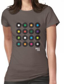 Singles Club Womens Fitted T-Shirt