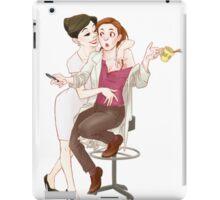 your morning coffee iPad Case/Skin