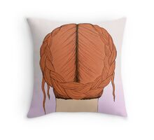Halo Braid Throw Pillow