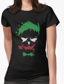 Jared Leto Suicide Squad Joker  Womens Fitted T-Shirt