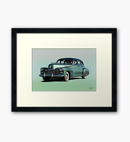 1941 Cadillac Series 61 Sedan 'Studio' Framed Print