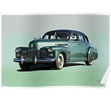 1941 Cadillac Series 61 Sedan 'Studio' Poster