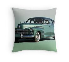 1941 Cadillac Series 61 Sedan 'Studio' Throw Pillow