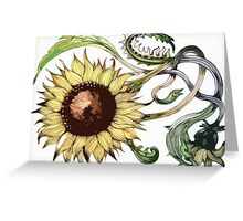 Traditional Sunflower Greeting Card