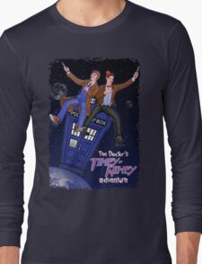 THE DOCTOR'S TIMEY-WIMEY ADVENTURE  (full cover) Long Sleeve T-Shirt