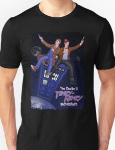 THE DOCTOR'S TIMEY-WIMEY ADVENTURE  (full cover) Unisex T-Shirt