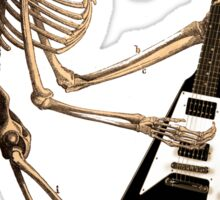 Ape Skeleton with Flying V Sticker