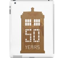Doctor Who - 50th Anniversary  iPad Case/Skin