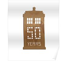Doctor Who - 50th Anniversary  Poster