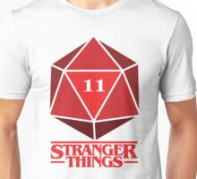Stranger Things Dice Eleven Unisex T-Shirt
