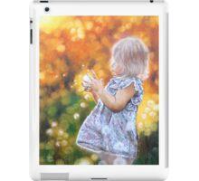 """A WISH COME TRUE""  iPad Case/Skin"