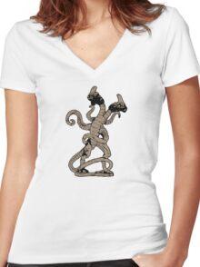 Demogorgon Women's Fitted V-Neck T-Shirt