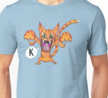 "The Angry Cat Says, ""K!"" Unisex T-Shirt"