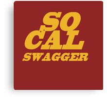 SoCal Swager Plain and Simple Canvas Print