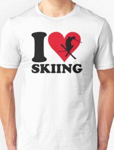 I love skiing T-Shirt