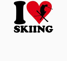 I love skiing Unisex T-Shirt
