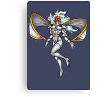 X-MEN Storm 90's White Costume Canvas Print