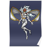 X-MEN Storm 90's White Costume Poster