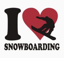 I love Snowboarding by nektarinchen