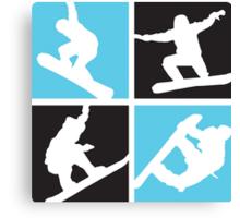 Snowboard  Canvas Print