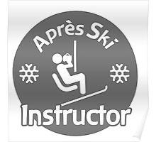 Après Ski Instructor Poster