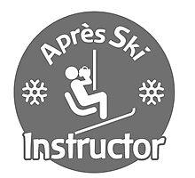 Après Ski Instructor Photographic Print