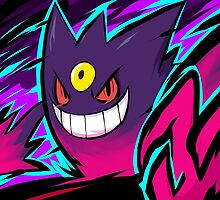 Mega Gengar | Nightmare by ishmam