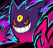 Mega Gengar | Nightmare by ishmam