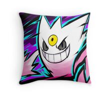 Shiny Mega Gengar | Nightmare Throw Pillow