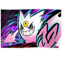 Shiny Mega Gengar | Nightmare Poster