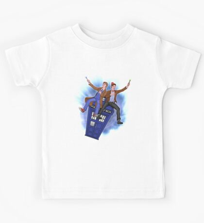 THE DOCTOR'S TIMEY-WIMEY ADVENTURE  Kids Tee