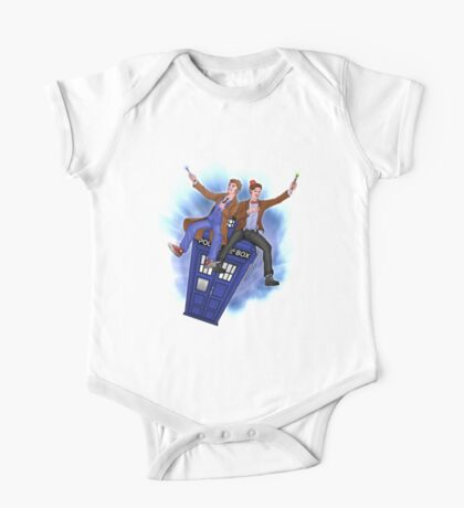 THE DOCTOR'S TIMEY-WIMEY ADVENTURE  One Piece - Short Sleeve