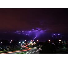 Summer Lightning Perth Photographic Print