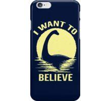 BELIEVE IN NESSIE iPhone Case/Skin