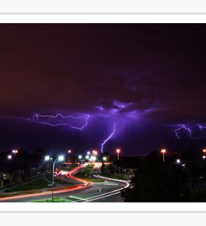 Summer Lightning Perth Sticker