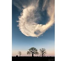 A Kimberley Skyscape Photographic Print