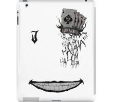 JOKER ALL IN iPad Case/Skin
