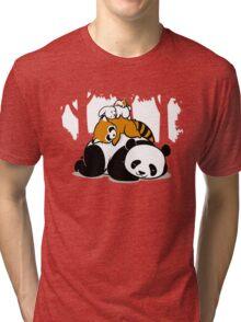 COMFY BED Tri-blend T-Shirt