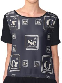 Chemistry of the business Chiffon Top