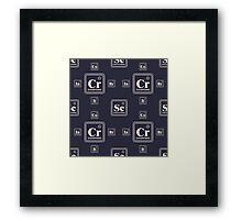 Chemistry of the business Framed Print