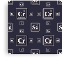 Chemistry of the business Canvas Print