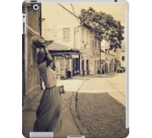 Dance in the old City iPad Case/Skin