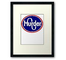 MURDER KROGER  Framed Print