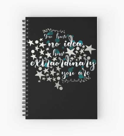 Extraordinary Spiral Notebook