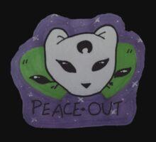 Usabjørn Peace Out Kids Tee